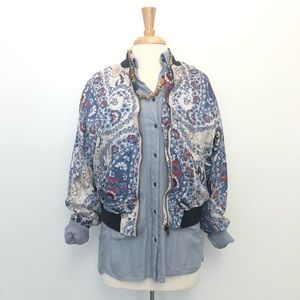 Free People Blouse Button Down Collar Long Sleeve